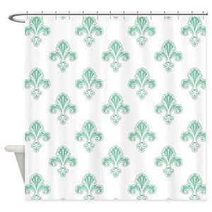 Seafoam Green Shower Curtains