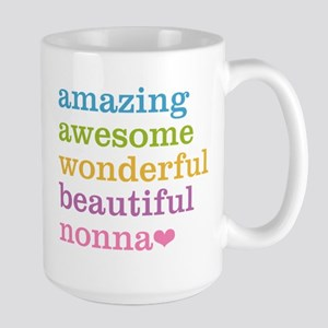Nonna - Amazing Awesome Large Mug