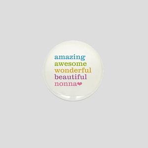 Nonna - Amazing Awesome Mini Button