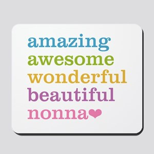 Nonna - Amazing Awesome Mousepad
