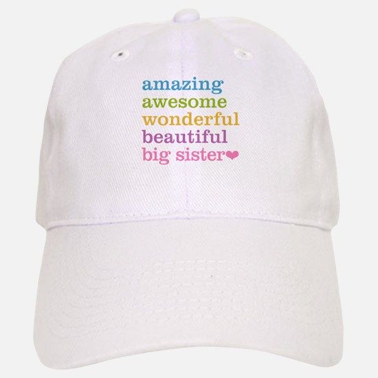 Big Sister - Amazing Awesome Baseball Baseball Cap