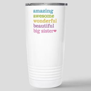 Big Sister - Amazing Aw Stainless Steel Travel Mug