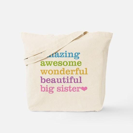Big Sister - Amazing Awesome Tote Bag