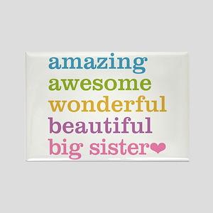Big Sister - Amazing Awesome Rectangle Magnet