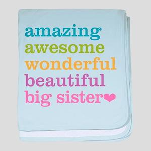 Big Sister - Amazing Awesome baby blanket