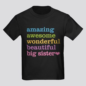 Big Sister - Amazing Awesome Kids Dark T-Shirt
