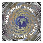 Home Sweet Home Square Car Magnet 3
