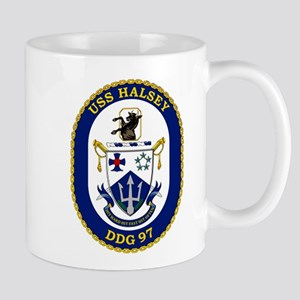 DDG 97 USS Halsey Mug