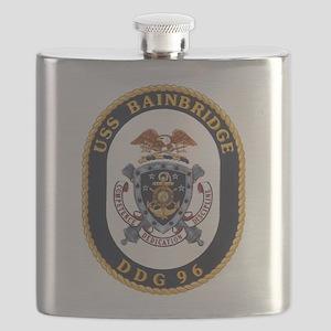 DDG 96 USS Bainbridge Flask