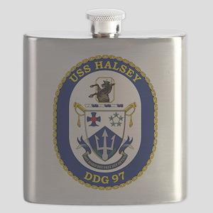 DDG 97 USS Halsey Flask