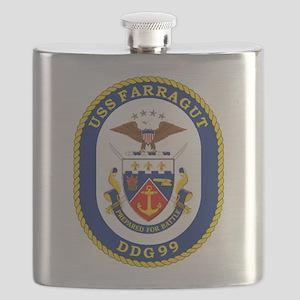 DDG 99 USS Farragut Flask