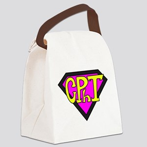 Superhero Technician Canvas Lunch Bag