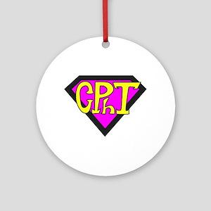 Superhero Technician Ornament (Round)