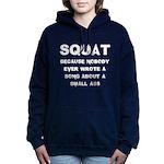 small ass Women's Hooded Sweatshirt