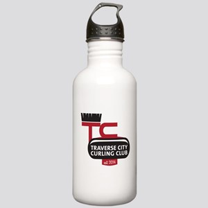 Tc Curling Club Logo Stainless Water Bottle 1.0l