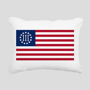 Nyberg Flag Rectangular Canvas Pillow