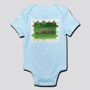 Groundhog and baby Body Suit
