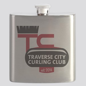 TC Curling Club Flask