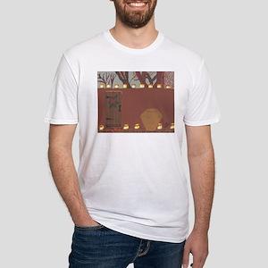 La Noche Buena Adobe Wall Fitted T-Shirt