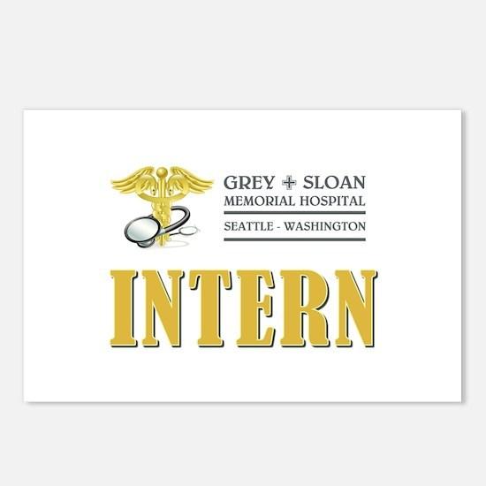 INTERN Postcards (Package of 8)