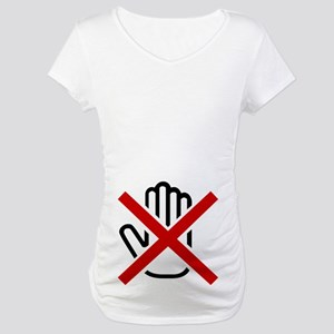 No hands Maternity T-Shirt