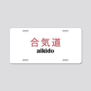 Aikido Aluminum License Plate