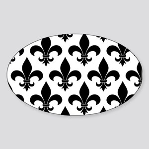 French fleur de lis Pattern Parisian Design Sticke