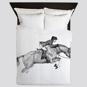 Hunter Jumper Pony Queen Duvet