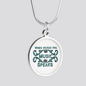 Music Speaks Necklaces