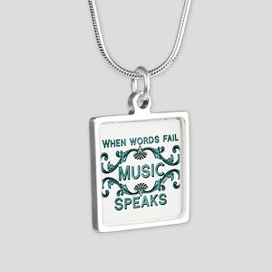 Music Speaks Necklaces