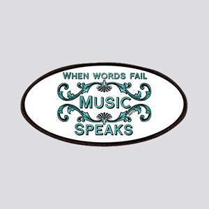 Music Speaks Patches