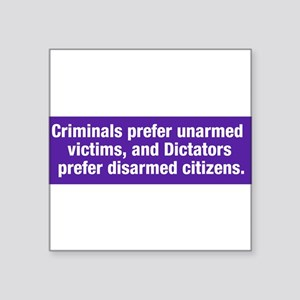 CriminalsAndDictators Sticker