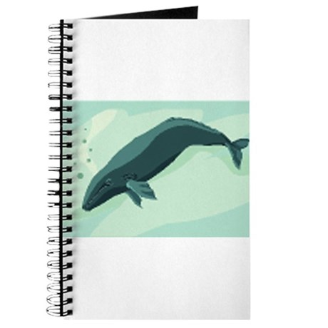 whale drawing Journal