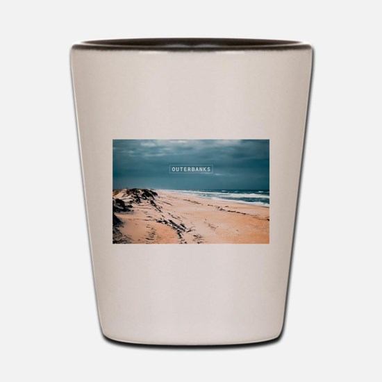 The Outer Banks. Shot Glass