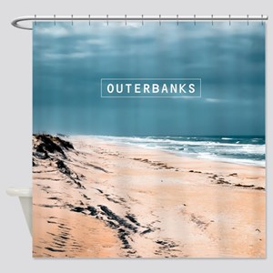 The Outer Banks. Shower Curtain