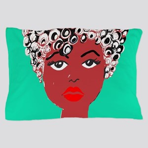 Sadie, the girl with the curls Pillow Case