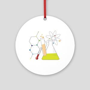 Chemistry Stuff Ornament (Round)