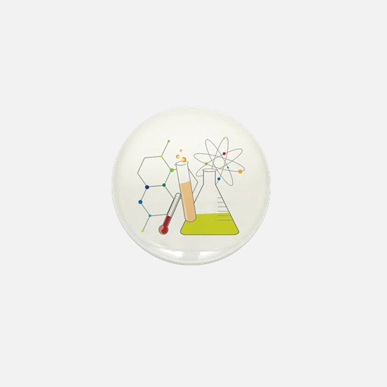 Chemistry Stuff Mini Button