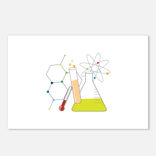Chemistry Stuff Postcards (Package of 8)