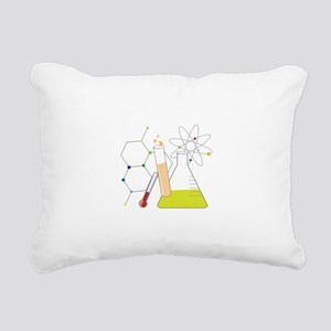 Chemistry Stuff Rectangular Canvas Pillow
