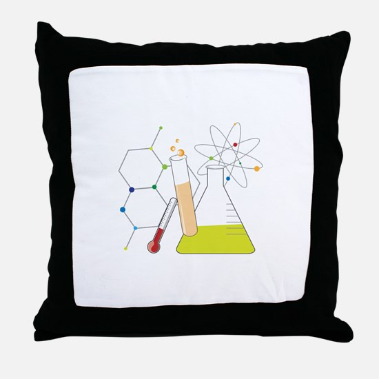 Chemistry Stuff Throw Pillow