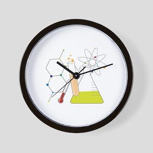 Chemistry Stuff Wall Clock