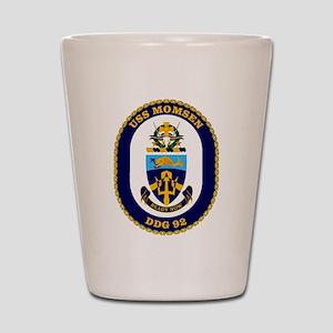USS Momsen DDG-92 Shot Glass