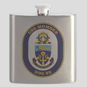 USS Momsen DDG-92 Flask
