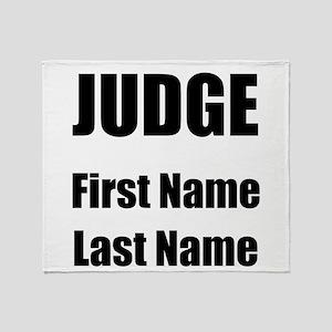 Judge Throw Blanket