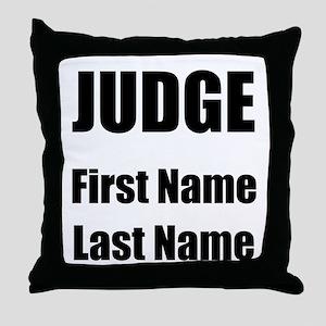 Judge Throw Pillow