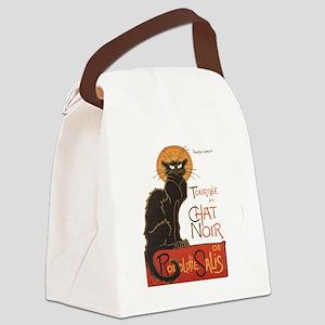 Steinlen Cat Canvas Lunch Bag