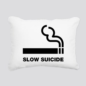 Slow Suicide Rectangular Canvas Pillow