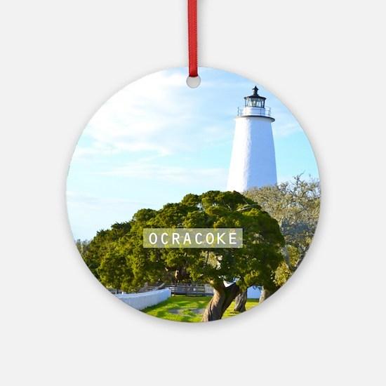 Ocracoke. Ornament (Round)