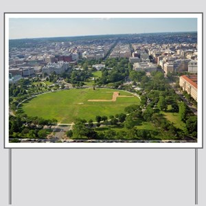 White house from top of Washington Monument Yard S